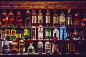 Top shelf liquor.